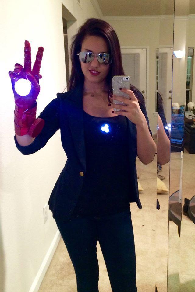 Tony Stark Halloween Costume.Fem Tony Stark Cosplay Cinerdella Cosplay Tony Stark Marvel