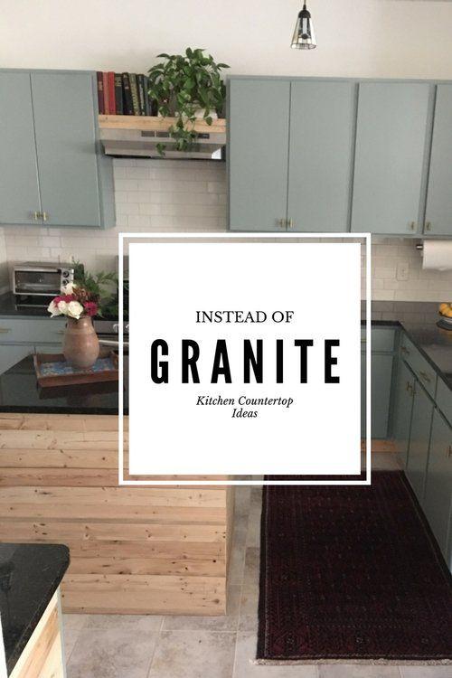 Instead of Granite