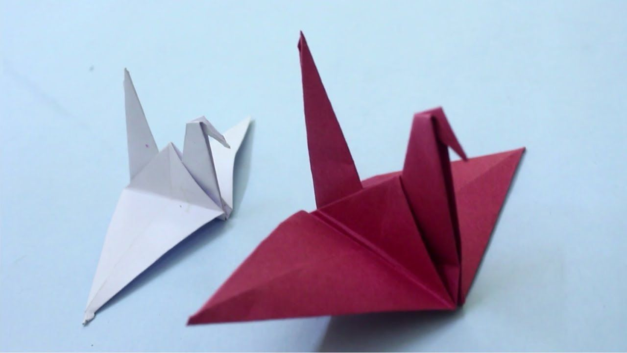 Flapping Bird: Animated Origami Instructions: How to make Origami | 720x1280