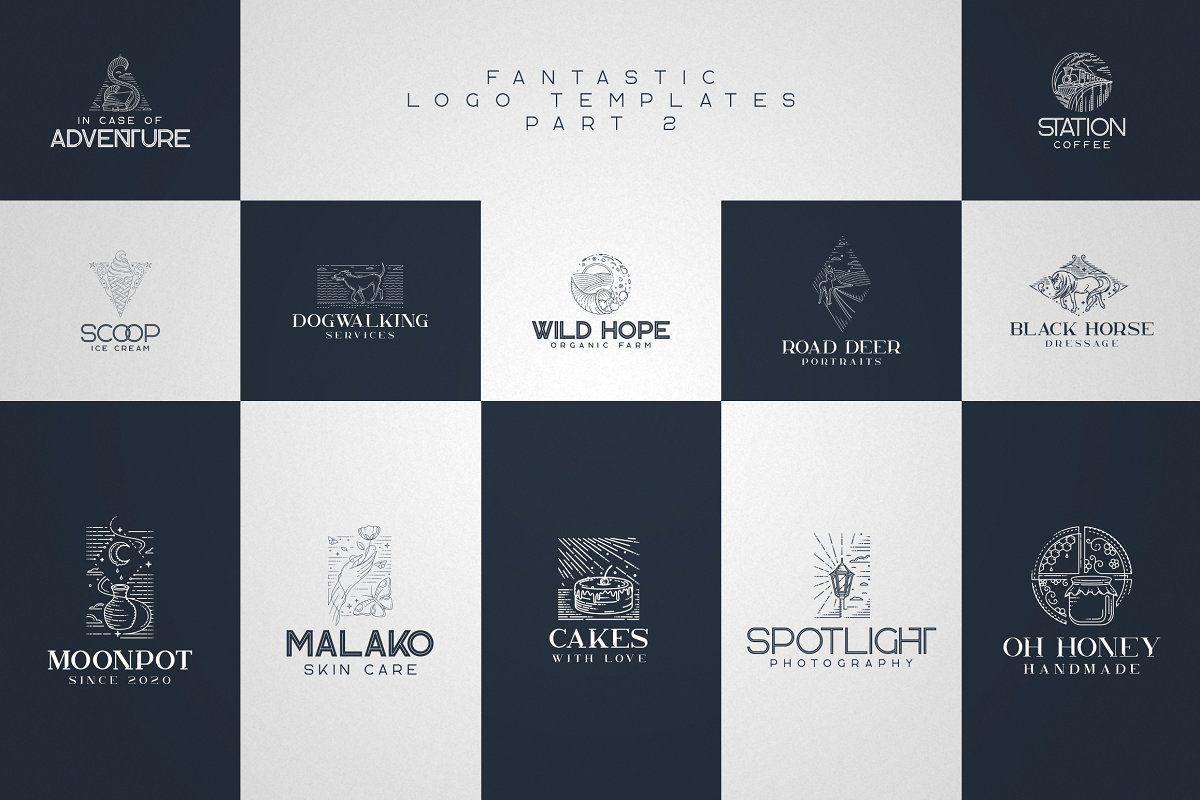 Kavo Family 17 Fonts 24 Logos In 2020 Logo Templates Stylish Text Web Design Tutorials