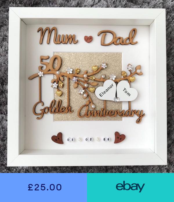 Photo Picture Frames Home Furniture Diy Ebay 50 Wedding Anniversary Gifts 30th Wedding Anniversary Gift 50th Wedding Anniversary