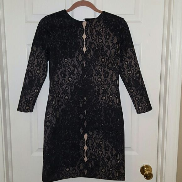 Cynthiana Steffe dress Classy, form fitting, size 2, lace print detail Cynthia Steffe Dresses Mini