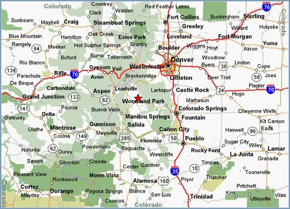 image regarding Printable Map of Colorado known as Pin upon Colorado is exactly where my center belongs