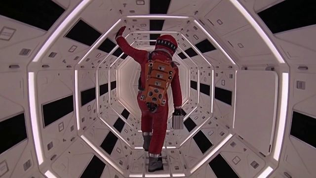 Feast your eyes on this piece of symmetry in motion. It's a video montage of scenes from Stanley Kubrick's movies that highlight the legendary filmmaker's penchant for the one-point perspective shot