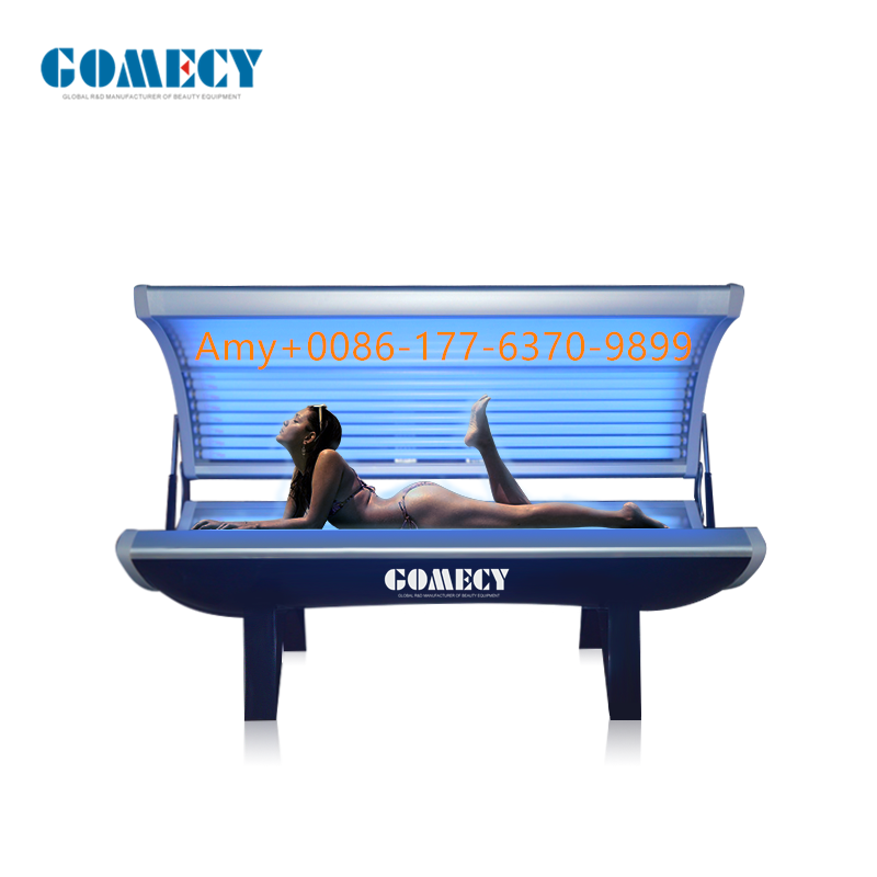 Tanning bed,. collagen Bed tanning solarium, suntanning