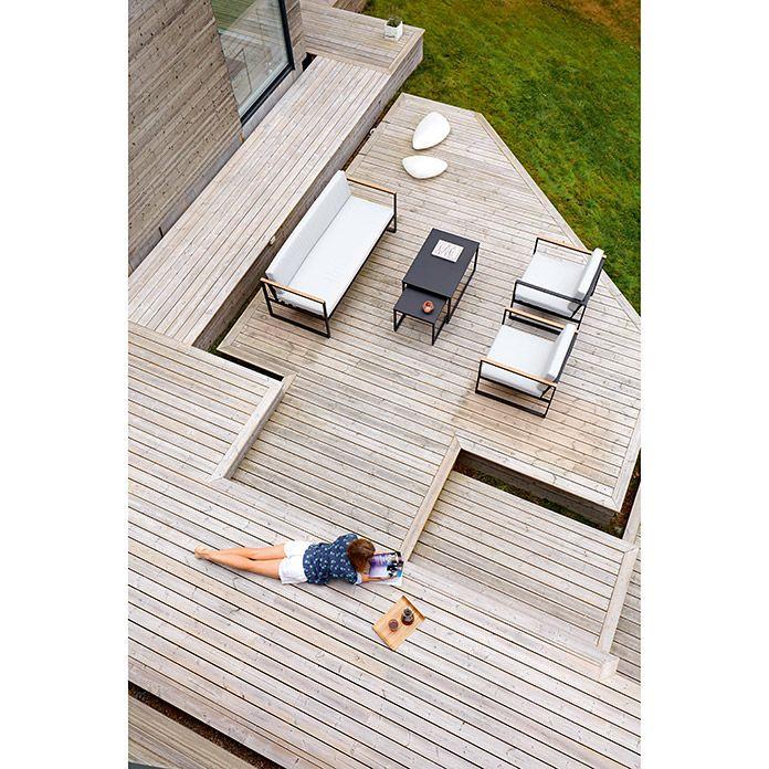 kuhle dekoration loungemobel balkon selber bauen, sensum loungemöbel-set hasseludden (5-tlg., schwarz) | balkon, Innenarchitektur