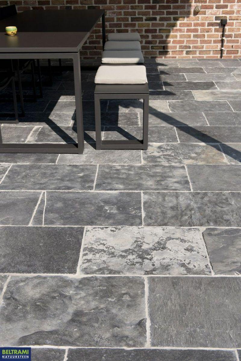 Terrastegels Natuursteen Buiten.Natuurstenen Tegels Voor Buiten Bouwpunt Van Der Gucht Tegels