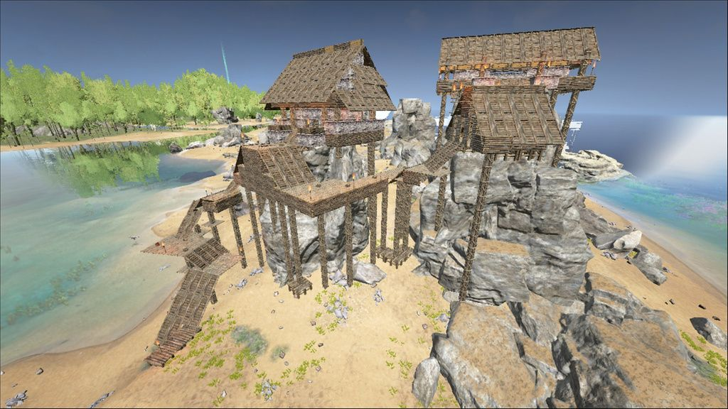 5084B1B67757DF3F81FEA88BA676BC7488807E84 (1024×640) Ark Castle - new blueprint ark survival