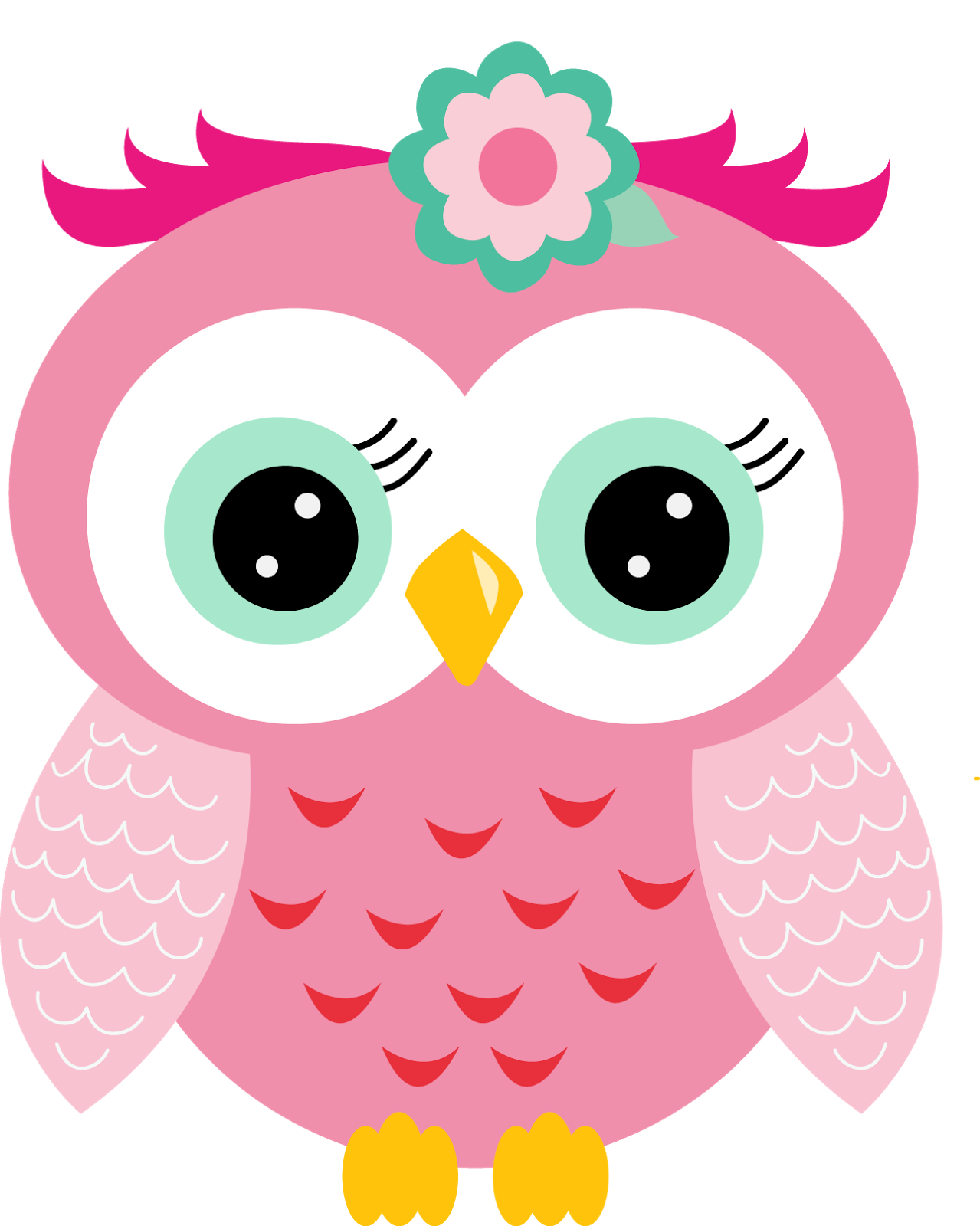 pink owl party free printables 013 1279—1600