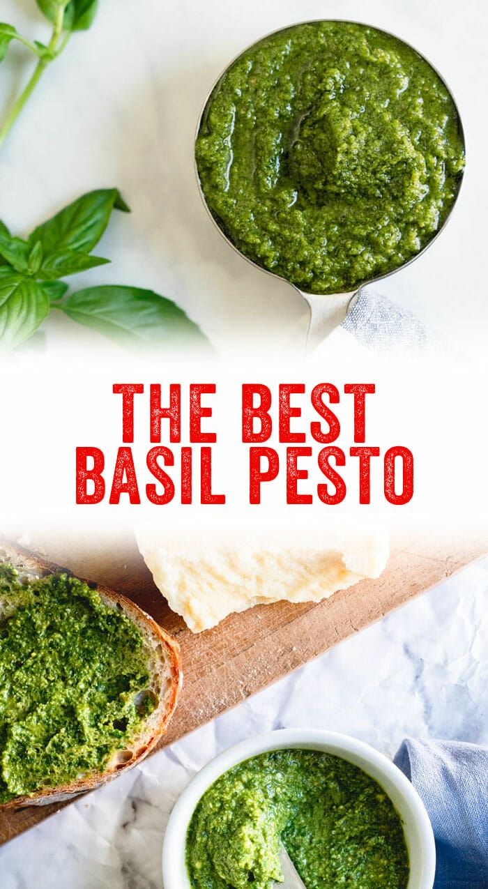 The best way to use up a boatload of fresh basil Pesto of course Heres our best basil pesto recipe made the classic Italian way