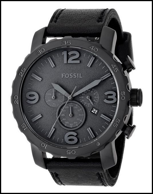 blackout silicone watch black watches men s watches and office fossil men s jr1354 nate black watch