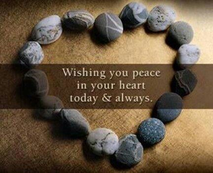 Wishes Peace And Love Your Heart Peace