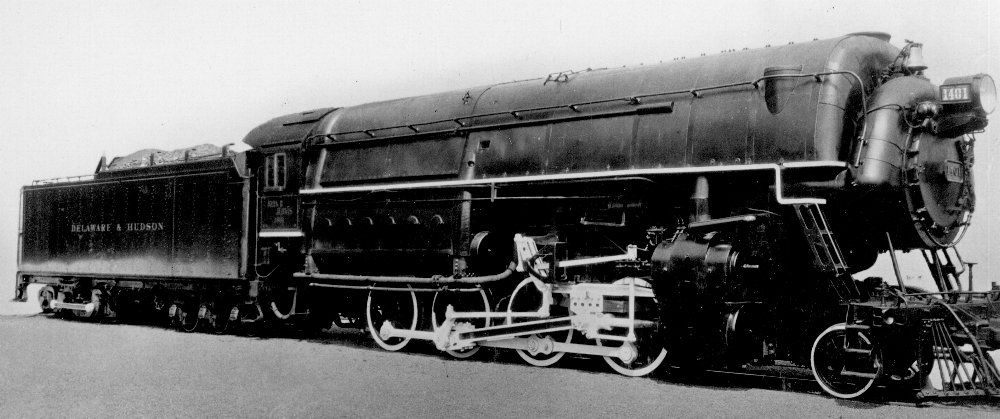 Pin by Rob Lerman on Delaware & Hudson Steam Locomotives in