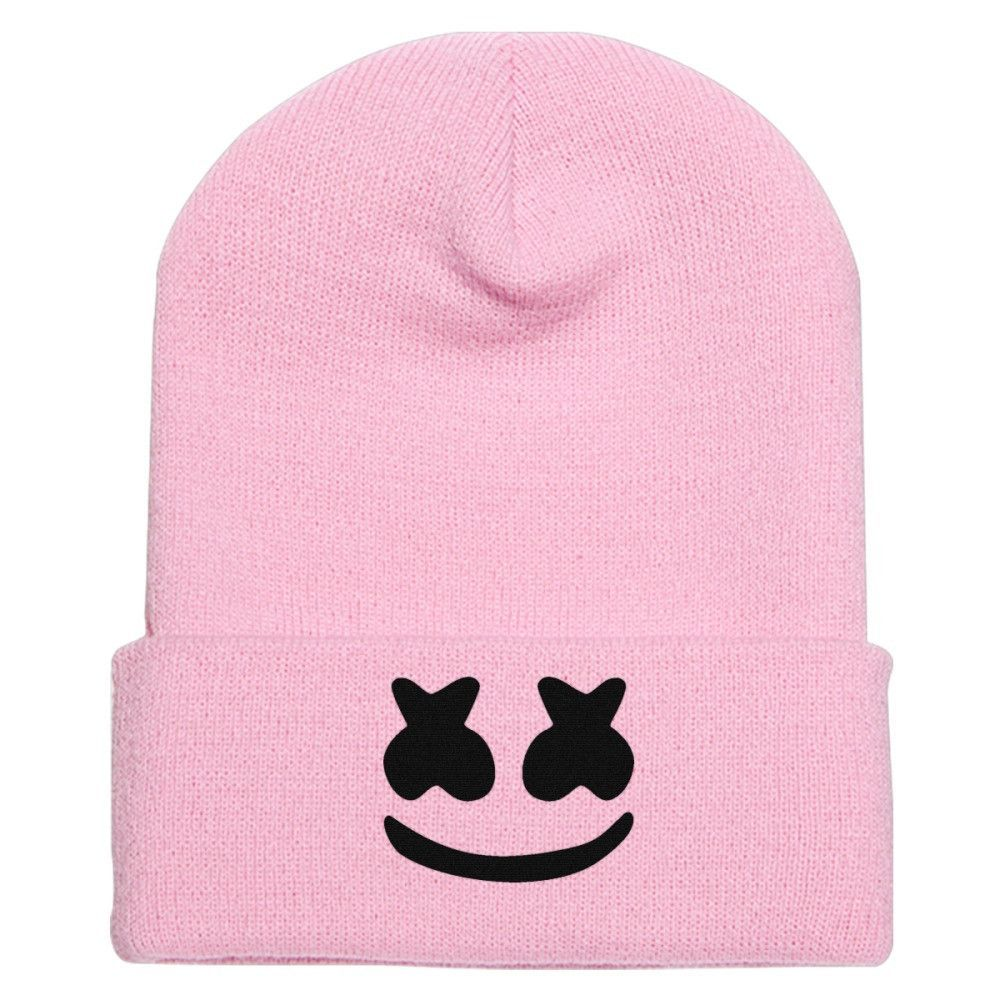 Keep It Mello Knit Cap Embroidery In 2018 Any Outfit Pinterest Tendencies Tshirt Born To Fire Hitam S This Is All About Marshmello Marshmallow T Shirt Hat Alone Monste