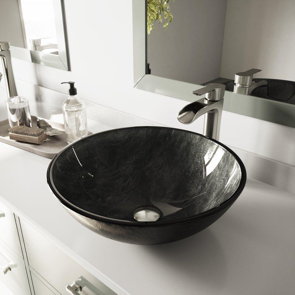 Our Best Sinks Deals Round Bathroom Sink Glass Sink Glass Vessel