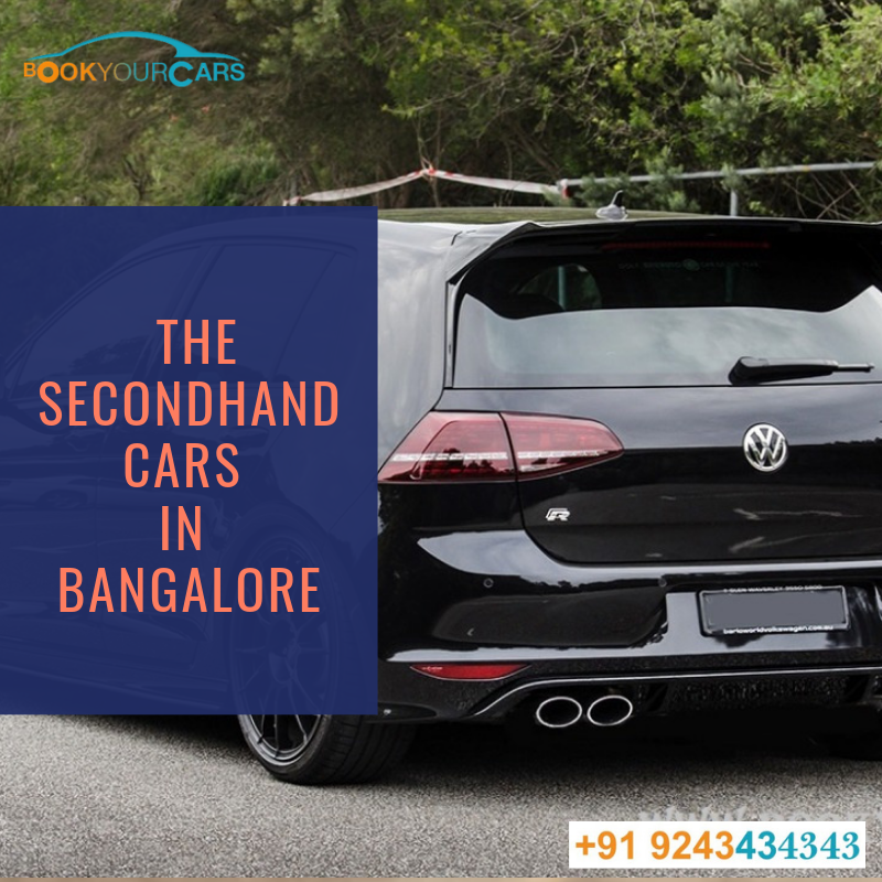 Searching the secondhand cars in Bangalore? Don't worry