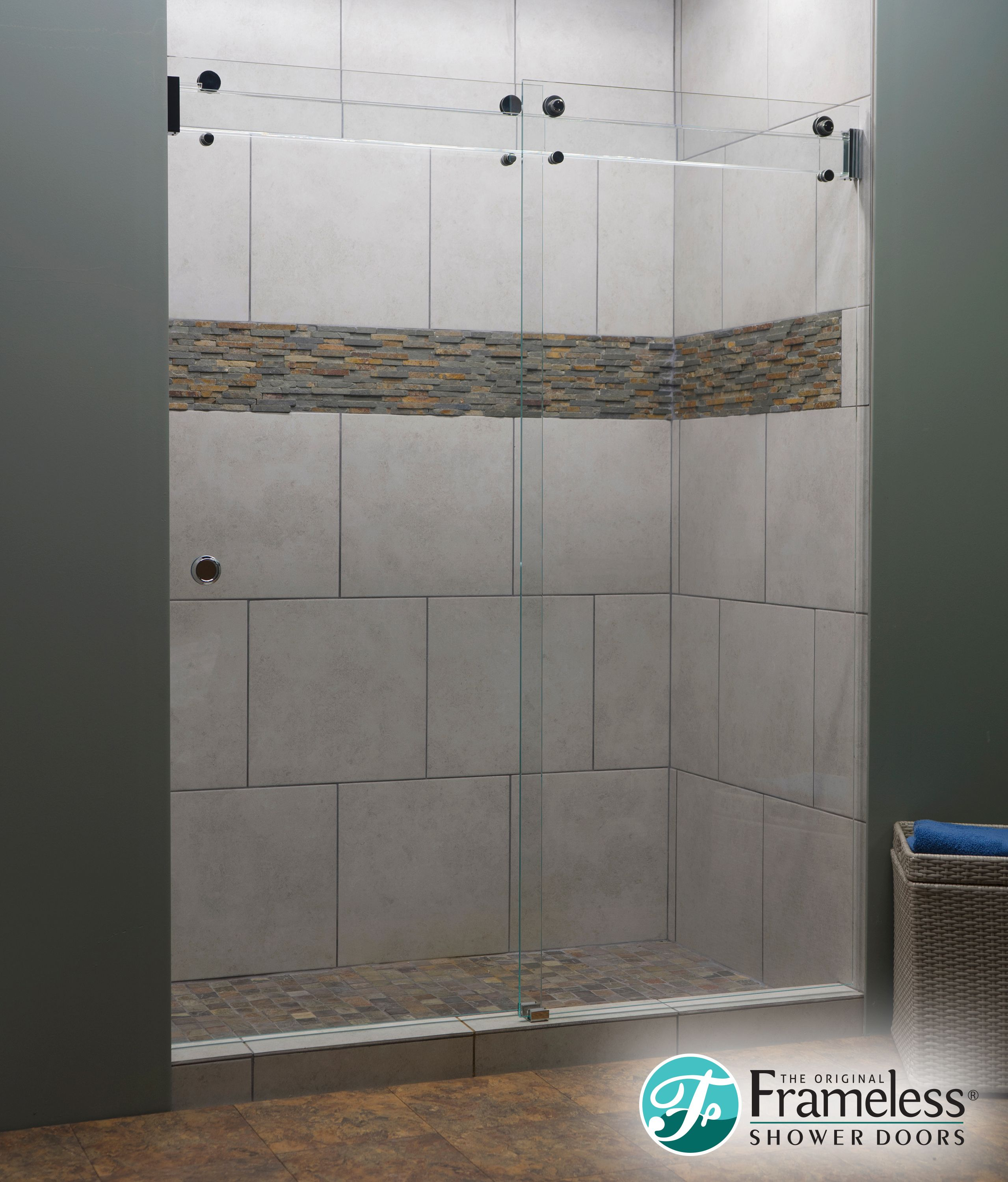 The Original Frameless Shower Doors Introduces The New Clearslide