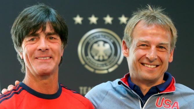 Jogi Loew Juergen Klinsmann