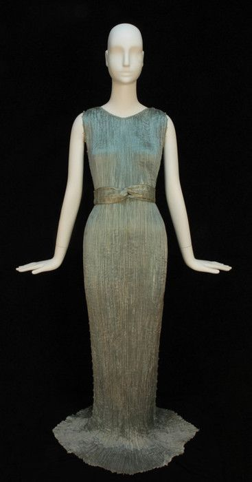 "b51371500fc2 ""Delphos"" evening dress by Fortuny"