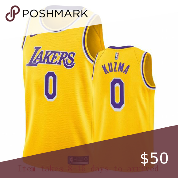 Men S Los Angeles Lakers 0 Kyle Kuzma Jersey Attention All Items Woulde Be Delivered In 8 15 Days If Urgent Please Don In 2020 Los Angeles Lakers Jersey Kyle Kuzma