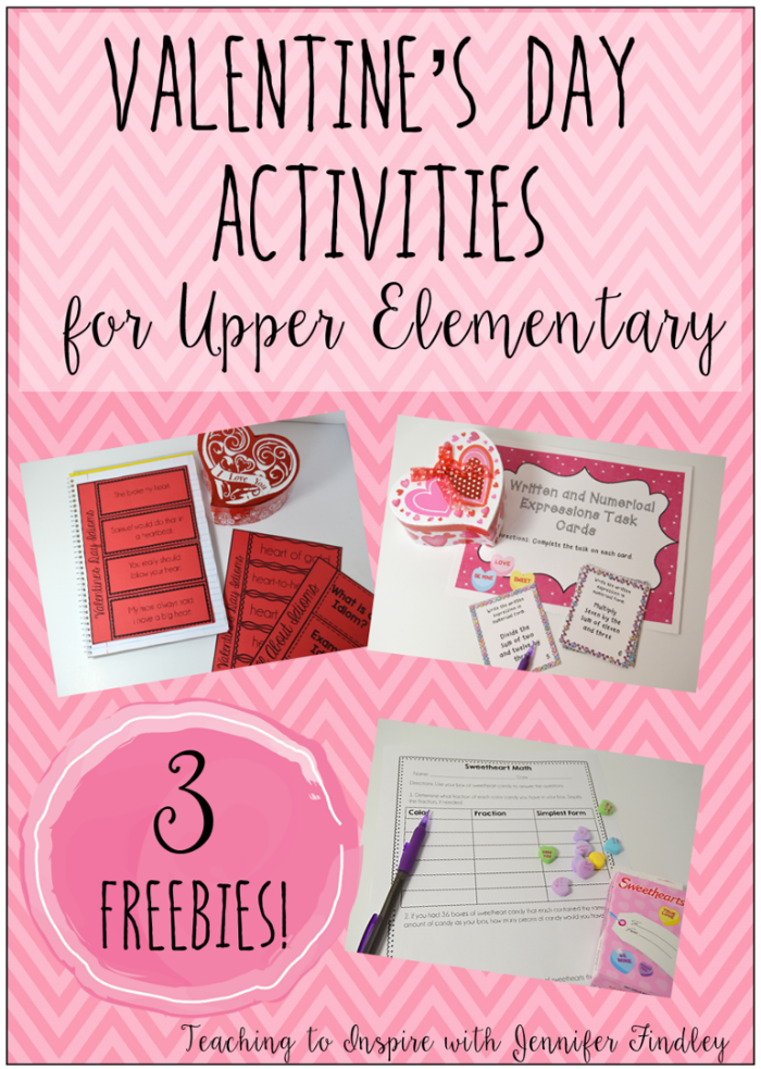valentine 39 s day activities for upper elementary 5th grade valentines day activities. Black Bedroom Furniture Sets. Home Design Ideas