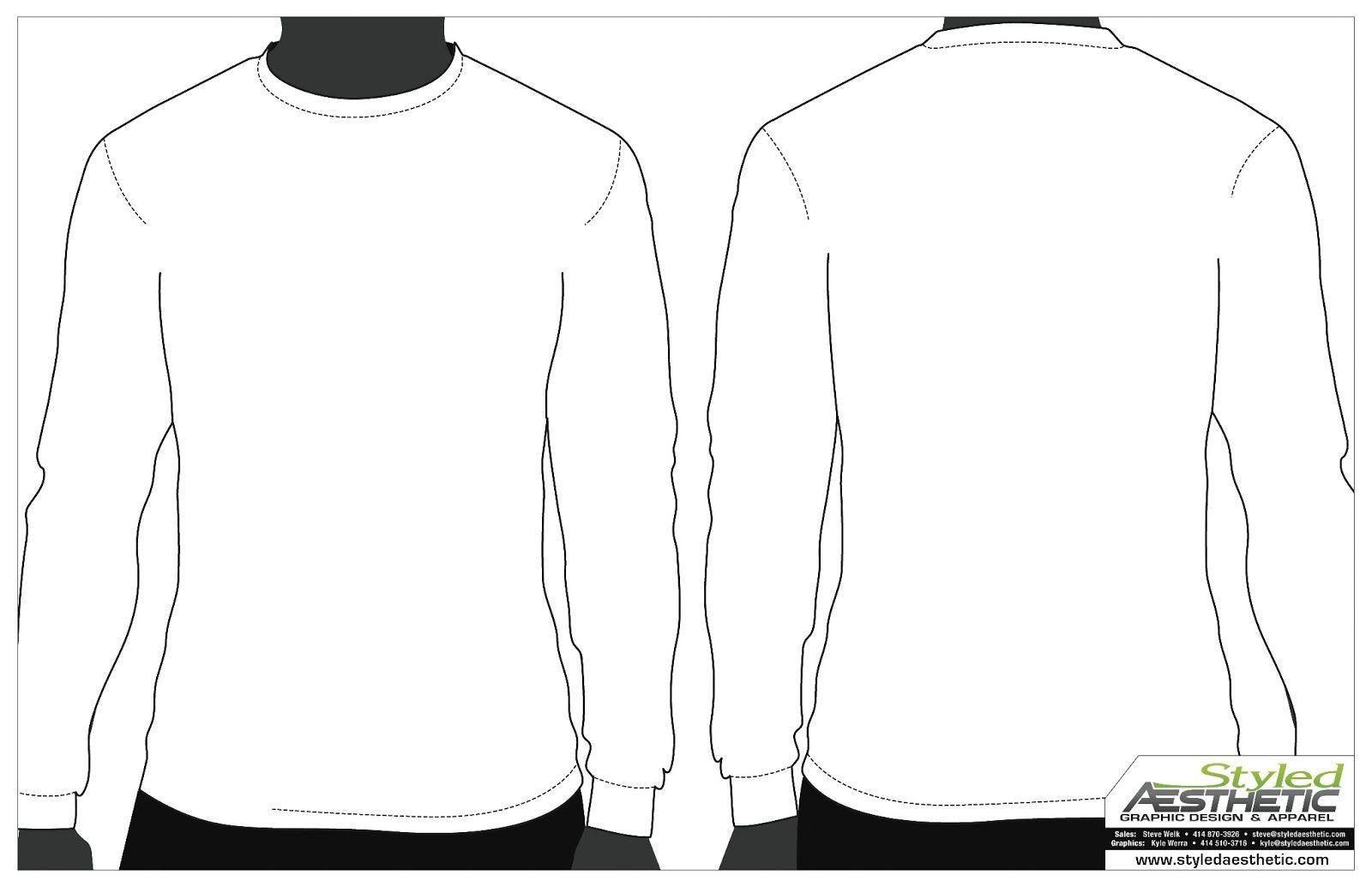 12 Long Sleeve Blank T Shirt Template Psd Images Long With Blank T Shirt Design Template Psd Best T Shirt Design Template Blank T Shirts Long Sleeve Shirts