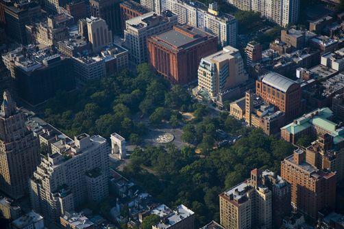 Nyu Campus Aerial Washington Square Park Nyu Campus Aerial View