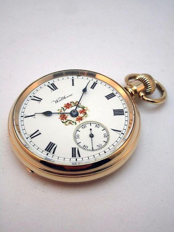 814c813ce24 Pin do(a) Ari Dullius em Relógios de Bolso