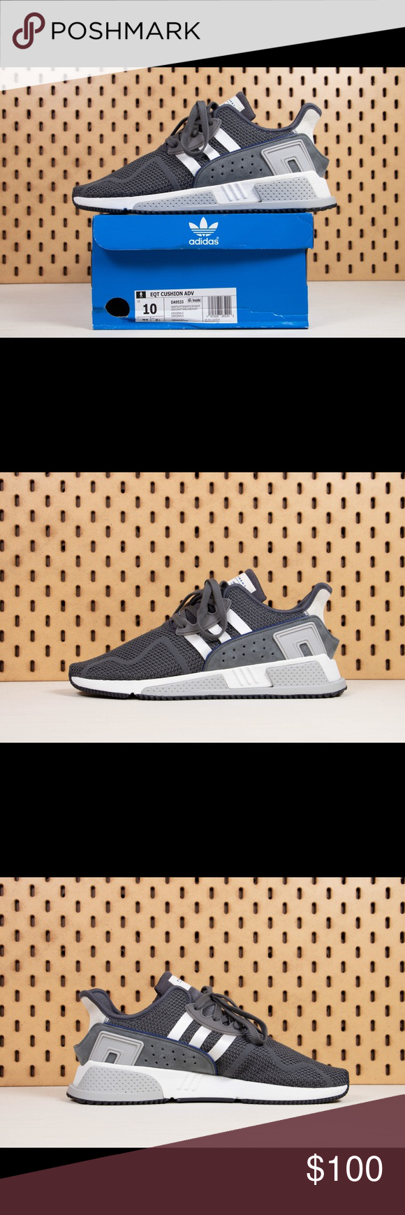 sneakers for cheap f01b6 946d4 Adidas Originals EQT Cushion ADV Size SZ 10 ✓ 📦 Adidas Adidas Originals EQT  Cushion ADV Style DA9533 ✓ 📦 adidas Shoes Sneakers