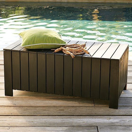 Perfect Outdoor Cushion Storage Bench