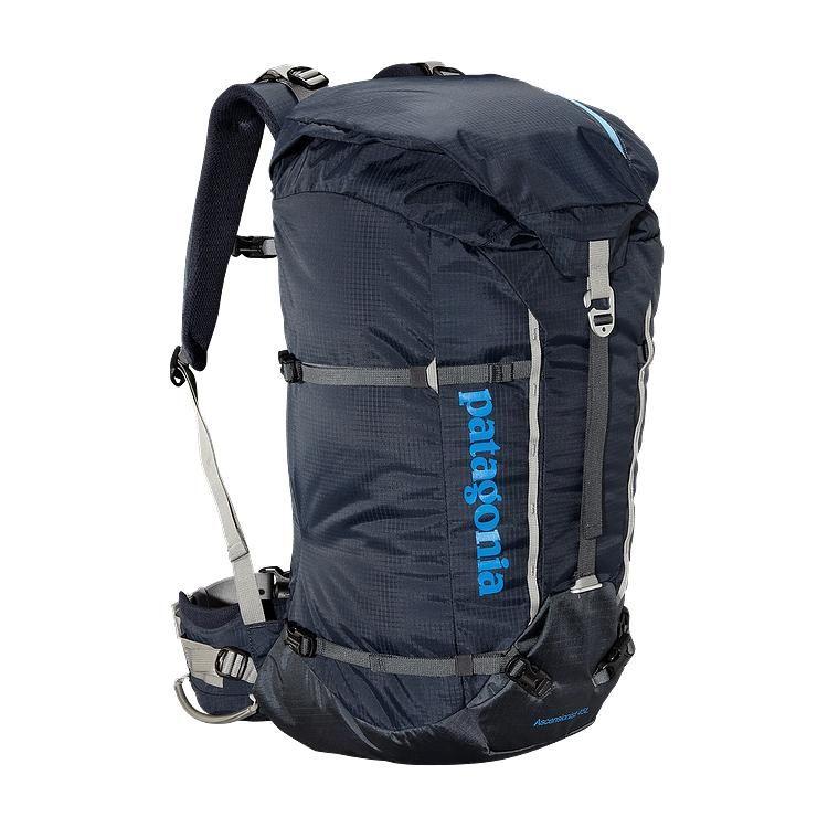 Patagonia Ascensionist Pack 45l Smolder Blue Smdb Rucksack Bag 30l Backpack Gear Bag