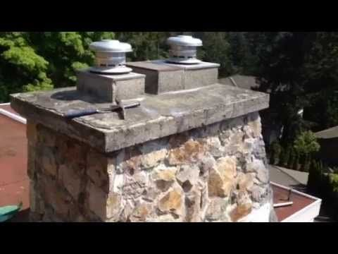 How To Fix A Leaking Stone Chimney With Bakor Blueskin Membrane