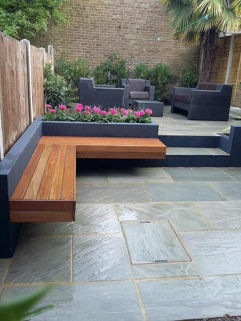 Moderne Gartenbank moderne gartenbank im eckdesign kingswood gardens