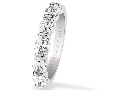 Alliance Diamants Ovale Bijoux Pinterest Weddings and Wedding