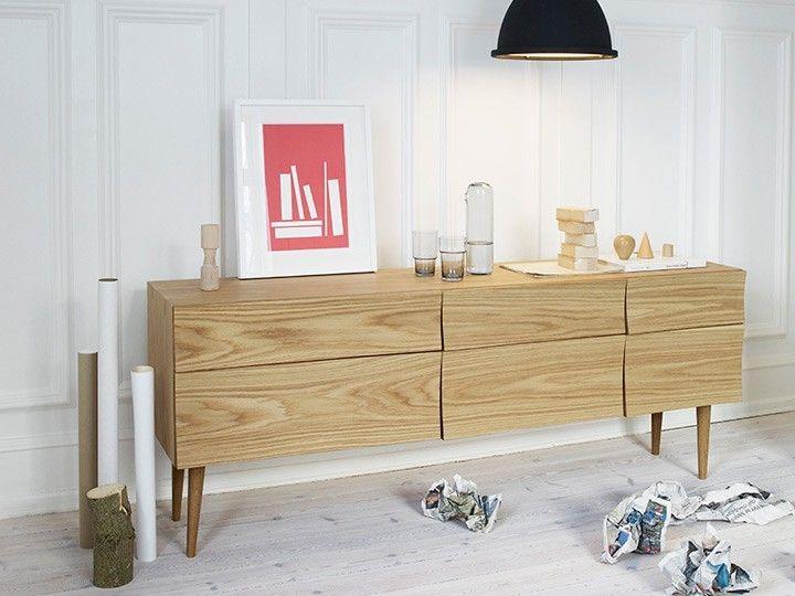 reflect schrank sideboard kommode 180 eiche muuto m bel. Black Bedroom Furniture Sets. Home Design Ideas