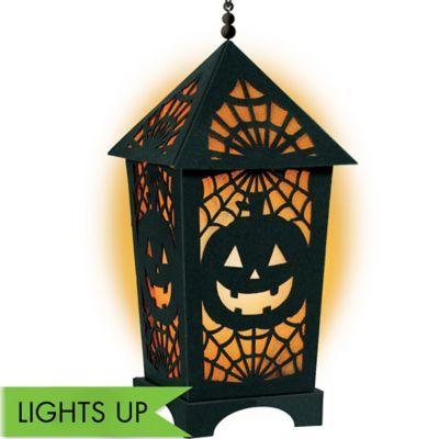Light-Up LED Halloween Lantern halloween crafts and ideas