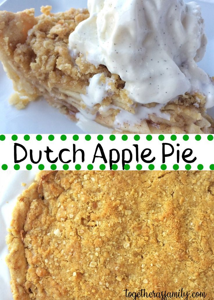 A flaky tender homemade crust bursting with tart  sweet apples and the best part a crumbly oat topping Serve with some vanilla bean ice cream freshly whipped cream and yo...