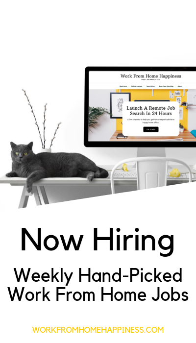 10 Awesome Work From Home Jobs Hiring This Week Apply Now With