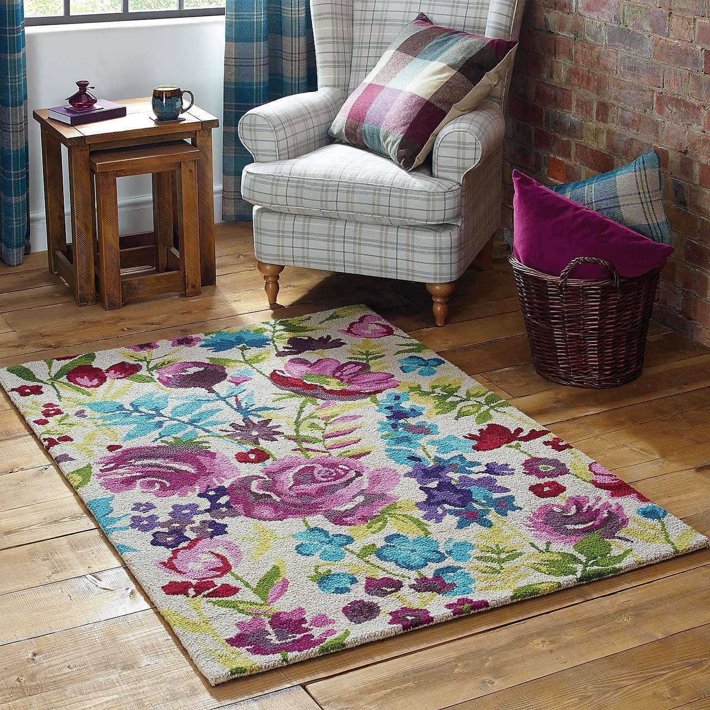 large kitchen rugs stone outdoor misty floral wool rug dunelm carpet etc