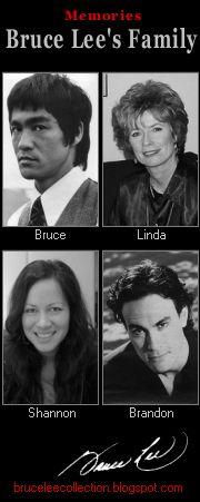For you Bruce Lee, Linda Lee, Shannon Lee, Brandon Lee.