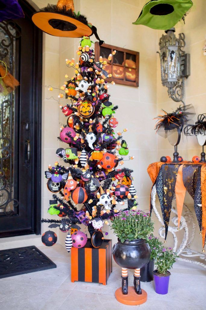 The Perfect Porch Accessories Halloween tree decorations