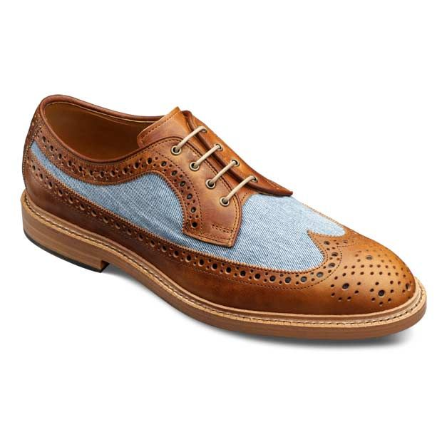 Special Edition WebGem - Tan Kasmuk - Wingtip Lace-up Oxford Men's Casual Dress Shoes by Allen Edmonds ($200-500) - Svpply