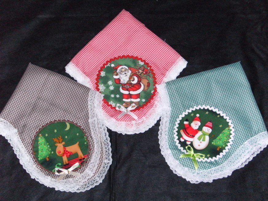 toalha cobre panetone Natal