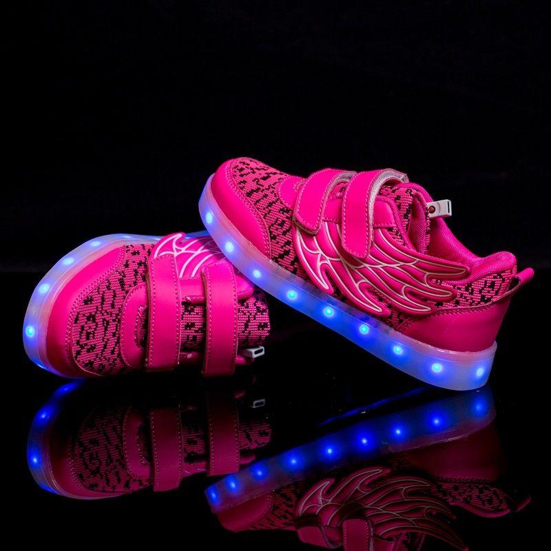 zapatillas niño luces adidas