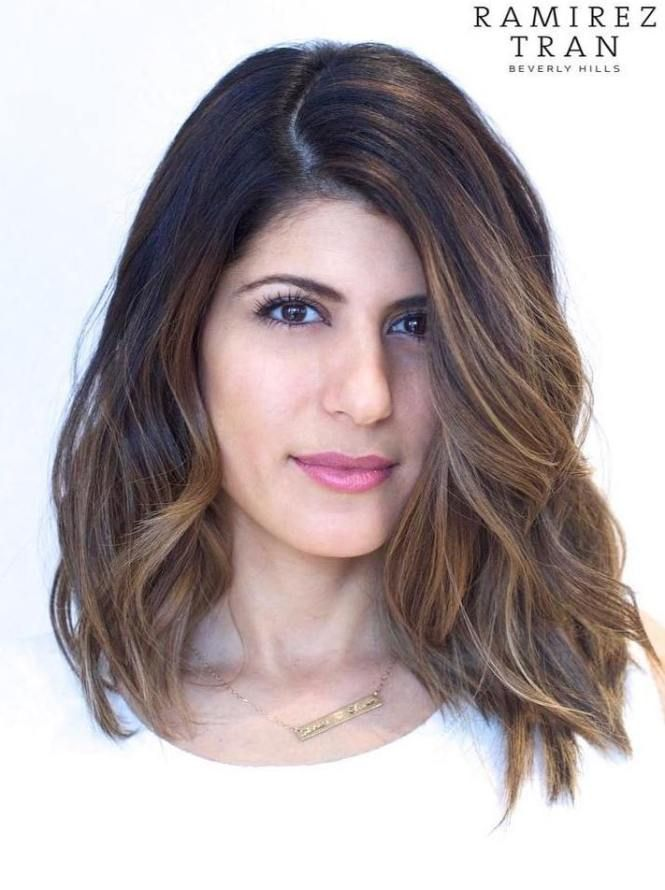 70 Brightest Medium Layered Haircuts To Light You Up Pinterest