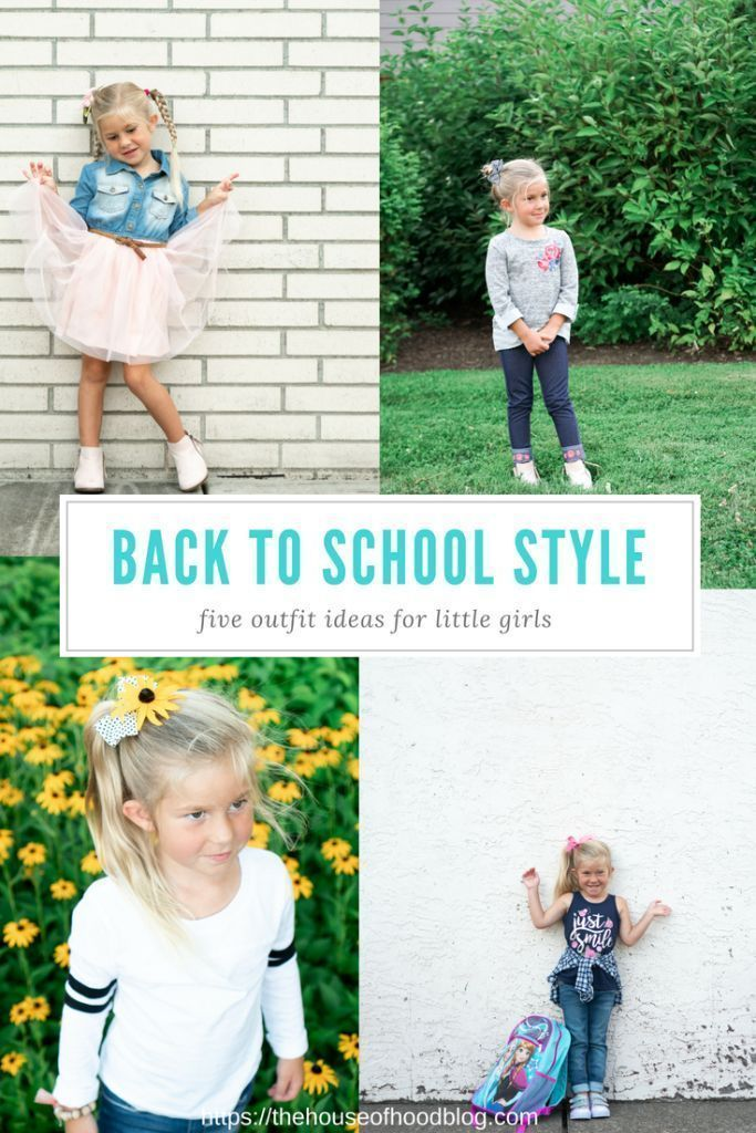Back to School Outfit Ideas for Little Girls