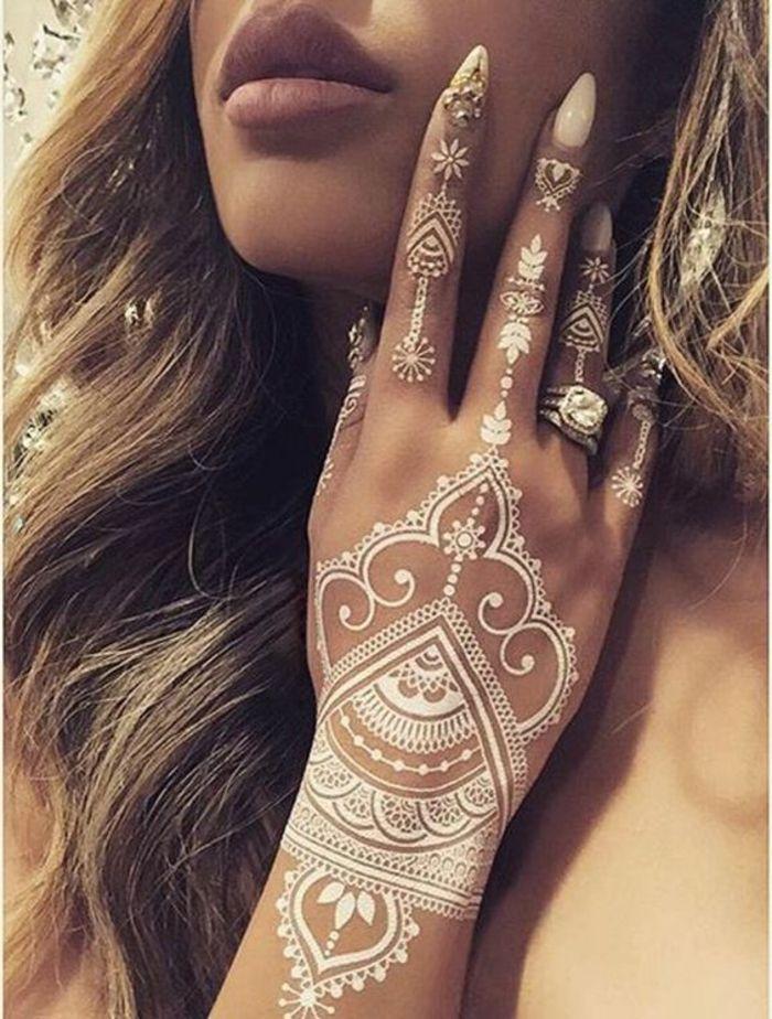 1001 Ideas De Tatuajes De Henna Temporal Para Mujeres Tatuajes