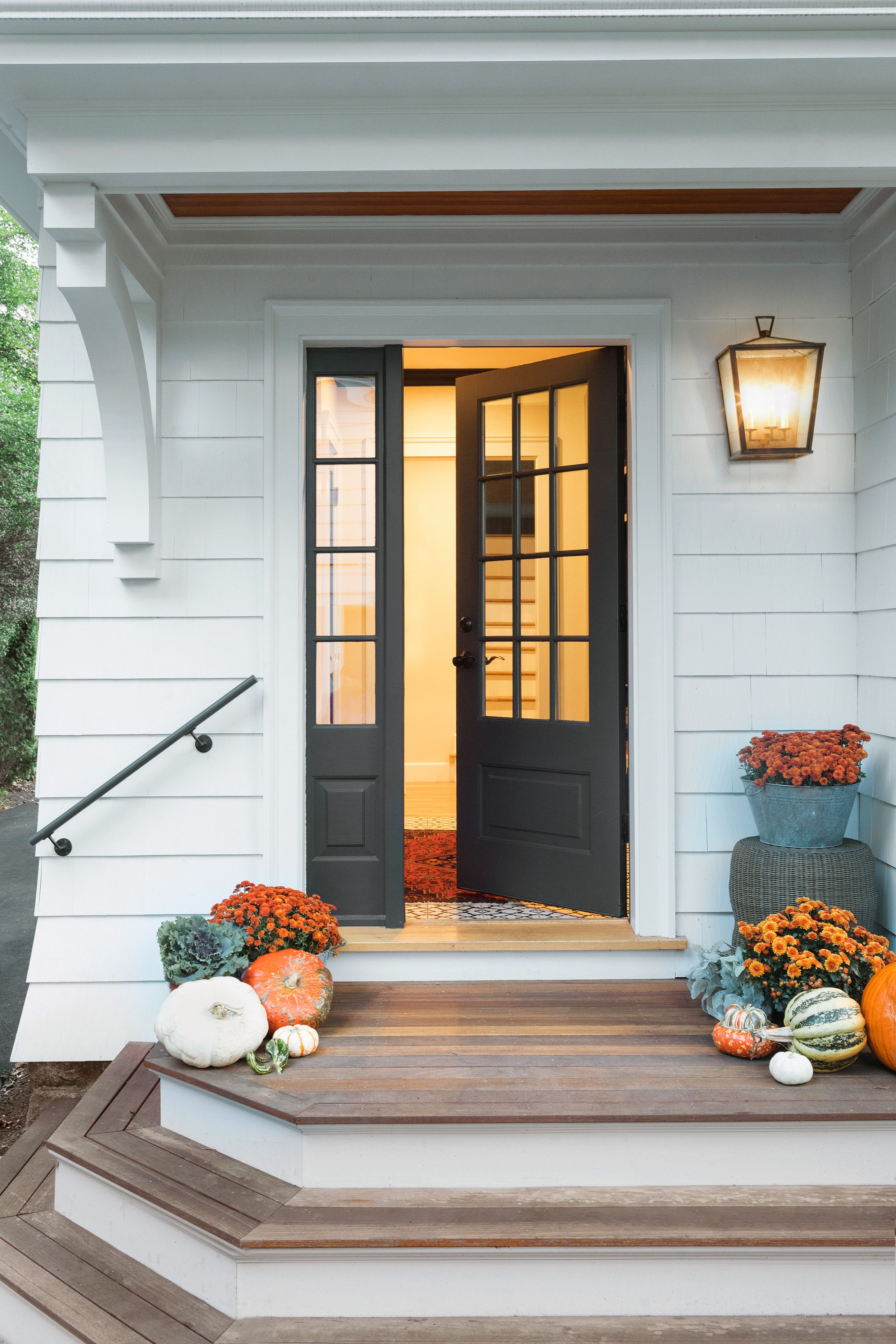 The Addition Of This Welcoming Rear Entry Into A New Mudroom Is Part