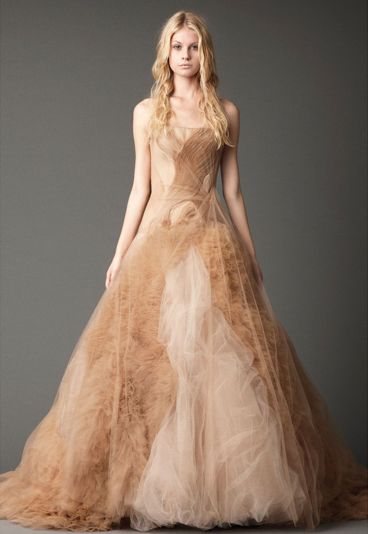 22ad0346175 Inspiration for a Romantic Peach and Dusky Blue Wedding