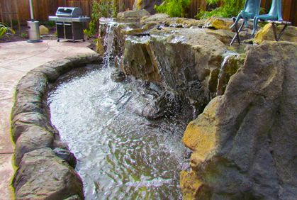 Backyard waterfall ideas pictures simple diy plans pond pictures of popular backyard waterfall ideas with easy do it yourself design plans top 2017 photo gallery simple water garden landscaping tips and diy solutioingenieria Images